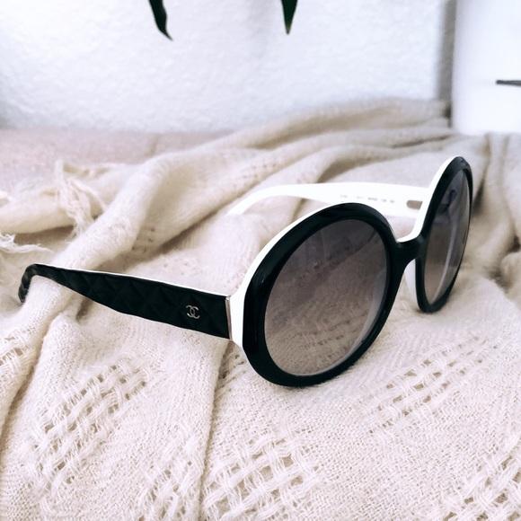 e7c24f7faff1 CHANEL Accessories - Authentic Chanel Round Sunglasses